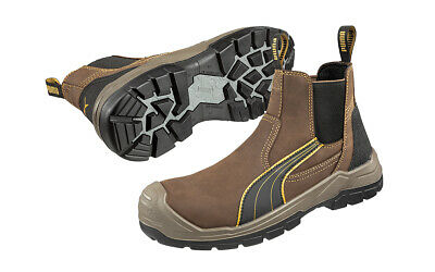 AU154.95 • Buy Puma Safety Boots Scuff Caps Tanami Brown 630267 With Composite Toe Cap