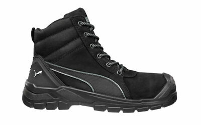 AU164.95 • Buy Puma Safety Boots Tornado Black Zip Sided Work Boots With Composite Toe Cap