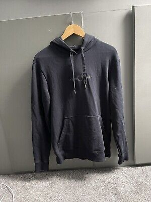 £25 • Buy Fred Perry Hoodie Navy Blue Size Small