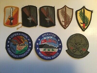 $9 • Buy Vintage Lot Of Military Patches And Pins Desert Storm +