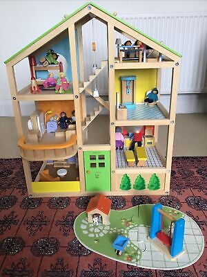 £45 • Buy Hape Wooden Dolls House Collection