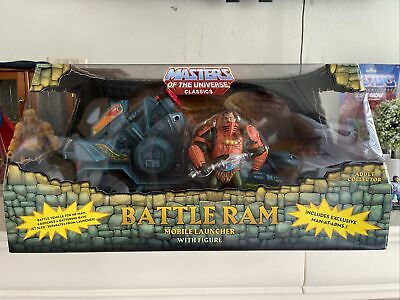 $127.50 • Buy MOTUC Masters Of The Universe Classics 6  Battle Ram New MIP Man At Arms Super 7