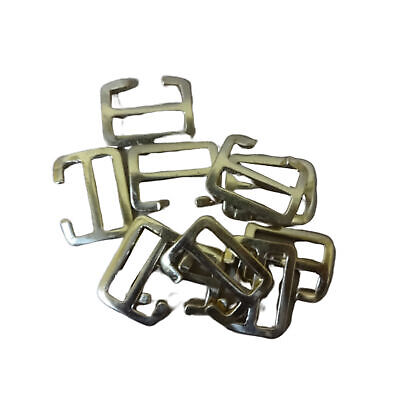 £33.59 • Buy WWII WWI Brass Buckles For P08 1908 P37 Webbing Sets (1 Inch) Set Of 25 V199