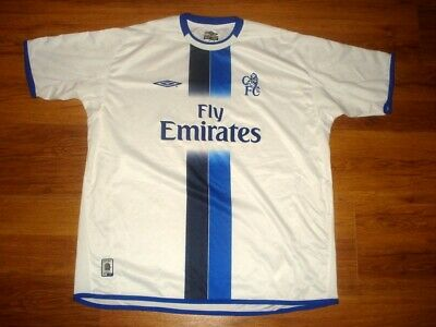 £44.99 • Buy Vintage Umbro CHELSEA 2003-2005 Away Shirt Jersey Maillot England SIZE: 2XL