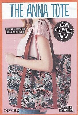 £4.95 • Buy Simply Sewing Pattern For The Anna Tote, Learn Bag Making, Oversize Tote, New