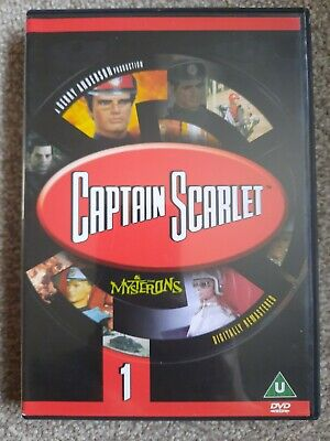£0.99 • Buy Captain Scarlet And The Mysterons - Vol. 1 - Episodes 1 To 6 (DVD, 2001)
