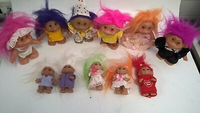 £9.99 • Buy Collection Of 11 Vintage D.A.M Trolls. 5 X 3  1986. 6 X 4  1985. #430