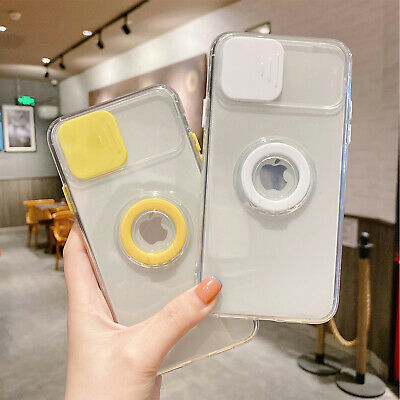 AU11.66 • Buy For IPhone 13 12 11 Pro Max XS XR 7+ 8 Case Camera Slide Lens Protect Ring Cover