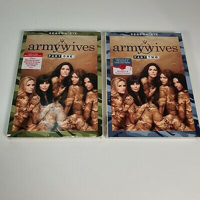 £158.70 • Buy Army Wives: Season Six Parts 1 And 2 - Both New/Unsealed NTSC Region 1 US