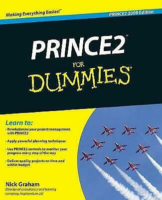£4.75 • Buy Prince2 For Dummies, 2009 Edition, Graham, Nick, Acceptable Book