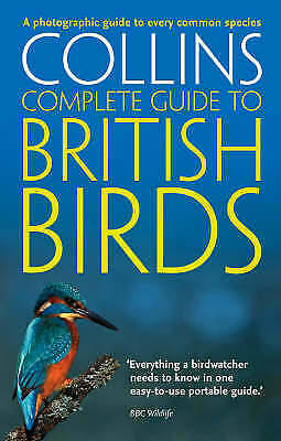 £4.48 • Buy Collins Complete Guide To British Birds, Sterry, Paul, Acceptable Book