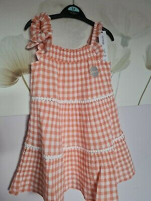 £3 • Buy Girls Age 3-4 Gingham Summer Dress George Happy 😊to Combine Postage