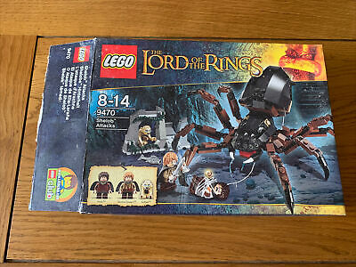 £25.30 • Buy LEGO The Lord Of The Rings Shelob Attacks (9470) BNIB