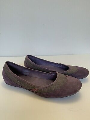 $29.99 • Buy Patagonia Maha Purple Leather Ballet Flat Shoes Loafer Womans Size 9.5