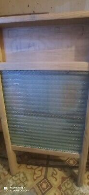 £30 • Buy Antique Glassick Washboard Wood Glass Wash Board. Outstanding Condition