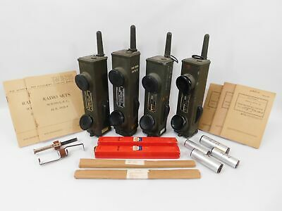 $2200 • Buy BC-611 WWII US Military Radio Transmitter Receiver Lot + Manuals + MS-85 Antenna