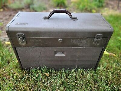 $75 • Buy 1950s Kennedy Model 520 7 Drawer Machinist Toolbox