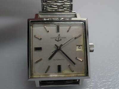 £404.41 • Buy ULYSSE NARDIN Anchor Automatic Square Date Swiss Analog Men's Watch Used Vintage