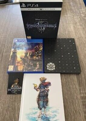 £22 • Buy Kingdom Hearts III 3 Deluxe Edition PS4 - Steelbook Edition, Everything Included