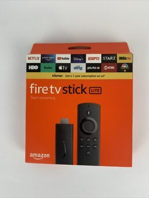 AU40.47 • Buy NEW AMAZON FIRE STICK LITE STREAMING SEALED - Fast Shipping