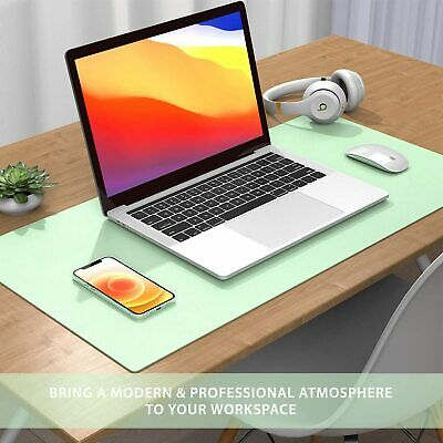 £6.98 • Buy Desk Pad Protector Mat -Dual Side PU Leather Desk Mat Large Mouse Pad Waterproof