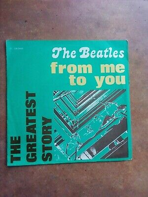 £8.53 • Buy The Beatles -from Me To You - 45 Giri - Mint
