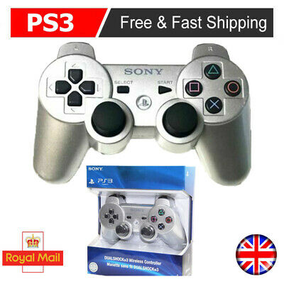 £12.99 • Buy UK Controller PlayStation3 DualShock3 Wireless SixAxis Controller GamePad Silver