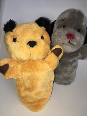 £19.99 • Buy Sooty And Sweep Glove Hand Puppets With Squeaker