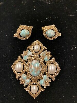 """$7.94 • Buy VINTAGE SARAH COVENTRY 1968 """"Remembrance"""" Pin Earrings"""