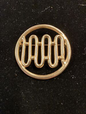 """$1.99 • Buy VINTAGE SARAH COVENTRY 1953 """"Melody"""" Unsigned Pin Goldtone"""