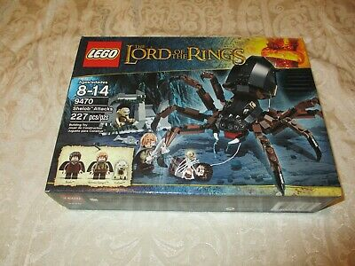 £82.71 • Buy New Sealed LEGO Lord Of The Rings Shelob Attacks (9470)