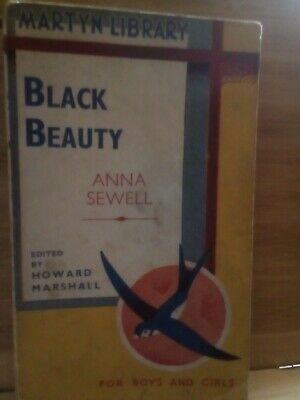 £9 • Buy Black Beauty. Anna Sewell. The Martyn Library, Paperback, 1937