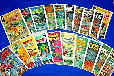 $280 • Buy Gold Key Magnus Robot Fighter 24 Comic Lot #27-46 Silver Age Complete Run Key