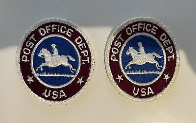 $15 • Buy 2 Vintage US Mail Post Office Department Letter Carrier Patch Used USPS Horse AZ