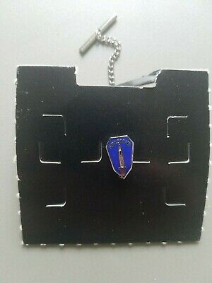 $10 • Buy FOLLOW ME TIE TACK Lapel Hat Pin Ft Fort Benning Military Infantry Unused Carded