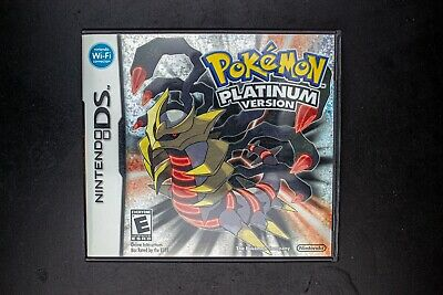 AU162.70 • Buy Pokemon Platinum | Complete In Box | AUTHENTIC/TESTED