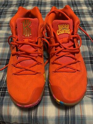 $270 • Buy Nike Kyrie 4 Lucky Charms Basketball Shoes NBA Size 11 W/ Original Box (CLEAN)