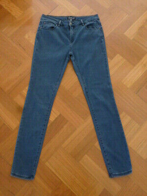 AU19 • Buy Forever New Rosie Low Rise Skinny Jeans - Size 12 - Rrp $89.99 - European Fabric