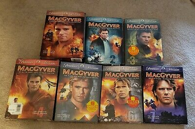 $69 • Buy Complete MacGyver 1-7 TV Series Dvd Set, 4 SEALED - 3 USED Condition