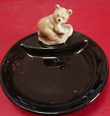 £5 • Buy Vintage Wade Ceramic Early Series Whimtray With A Bear On