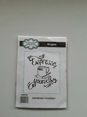 £0.99 • Buy Espresso Yourself By Creative Expressions.Single.used. Rubber.