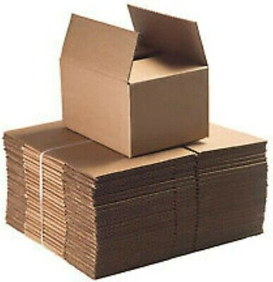 £10 • Buy Cardboard House Moving Packing Business Storage Boxes Bundle Of 24 New Unused