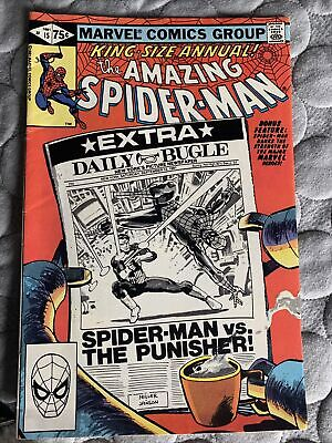 £8 • Buy Amazing Spider-Man King-Size Annual #15 Frank Miller Punisher