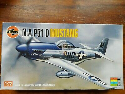 £3.50 • Buy Airfix. N.A. P51 D Mustang  , 1/72 Scale Special Edition Model Plane Kit NEW