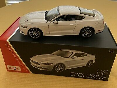 $100 • Buy Rare Ford Licensed Maisto 1/18 Die-cast 50th Anniversary Edition Mustang GT