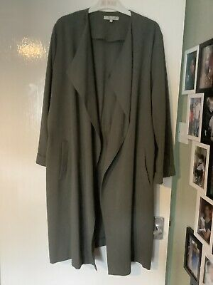 £2 • Buy New Waterfall Baggy Women Cardigan Maxi Floaty This Jacket. Plus Size