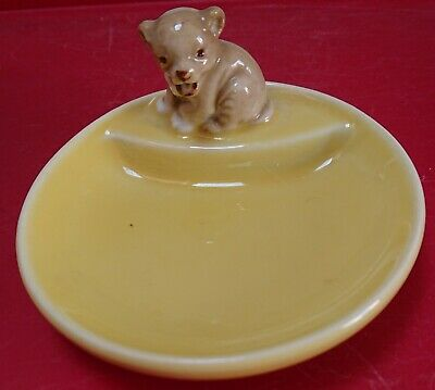 £5 • Buy Vintage Early Series Wade Whimtray With A Bear Cub On