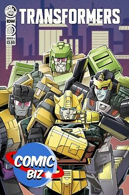 £3.65 • Buy Transformers #33 (2021) 1st Printing Pierre Main Cover A Idw Comics
