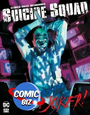 £5.75 • Buy Suicide Squad Get Joker #1 (2021) 1st Printing Main Cover Dc Comics ($6.99)