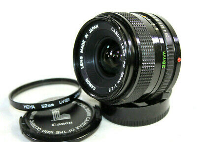 £69.95 • Buy CANON FDn 1:2.8 F=28mm Wide Angle Lens To Fit Canon A-1 AT-1 AE-1 AE-1P AV-1 F-1